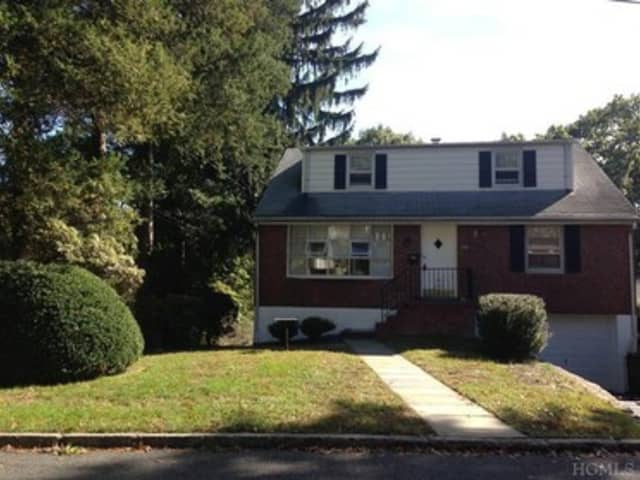 This house at 26 South Clinton Ave. in Hastings-on-Hudson is open for viewing this Sunday.