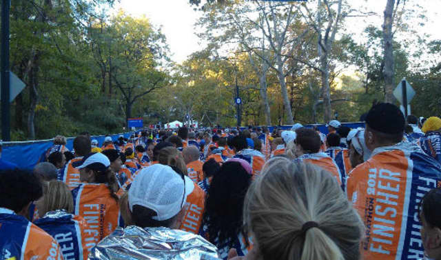 A New York City Half Marathon group is raising awareness for the art and drama programs at Bronxville's The Chapel School.