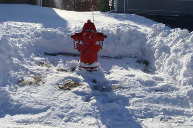 Help out the Fire Department by clearing about three feet of snow away from fire hydrants