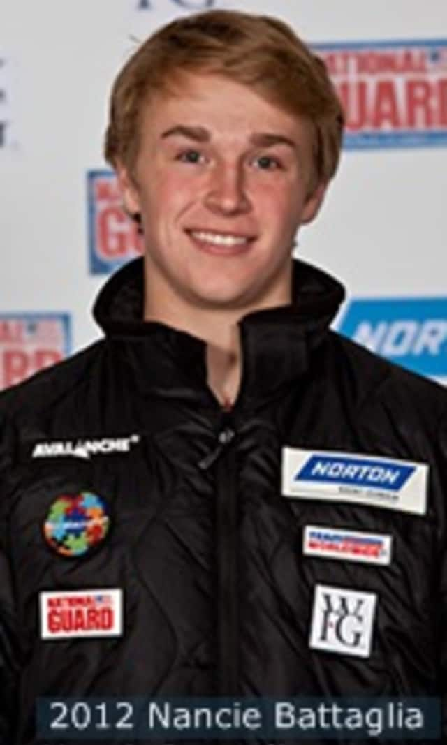 Tucker West, 18, of Ridgefield is the youngest member of the U.S. Olympic luge team.