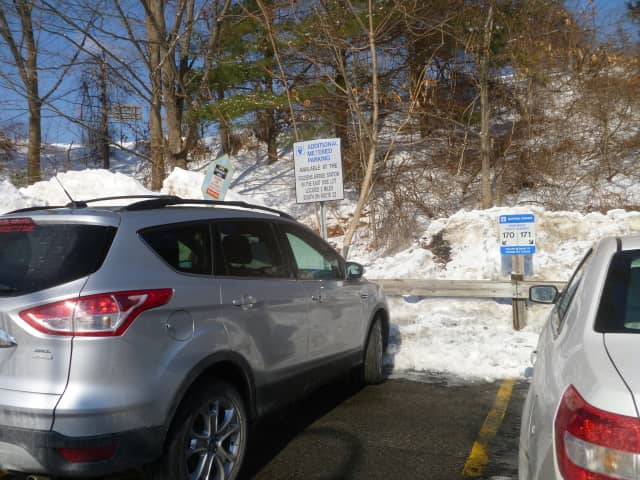 The Metropolitan Transportation Authority is studying traffic and overcrowding at the Purdys (pictured) and the Croton Falls commuter parking lots. A report on the study's finding is expected by next March.