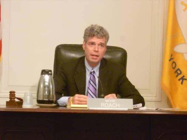 White Plains Mayor Thomas Roach