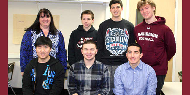 """Students from Harrison High School were named """"Best in State"""" in a recent app development competition."""