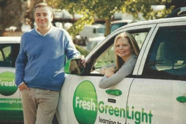Laura Shuler and Steve Mochel, co-founders of Fresh Green Light, will begin providing driving school services in Chappaqua, Bedford and Mount Kisco in March.