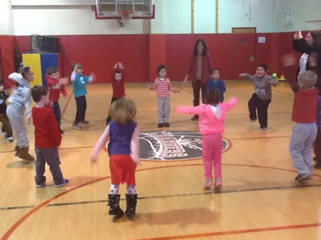 Students from The Chapel School and The New York School for the Deaf learn and play together.