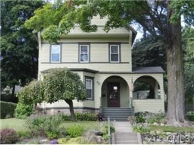 The house at 77 West Wooster Street in Danbury is open for viewing this Sunday.