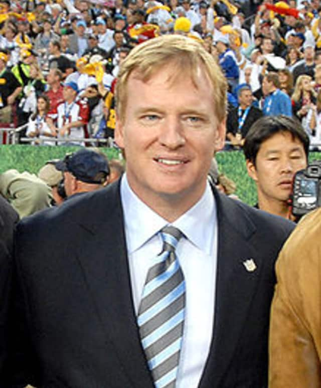 Roger S. Goodell turns 55 on Wednesday.