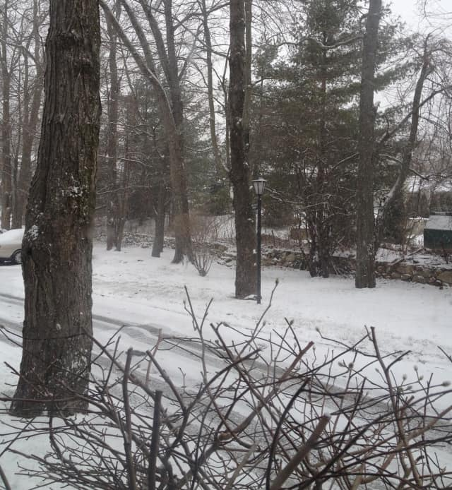 Snow is expected in Westchester on Saturday.