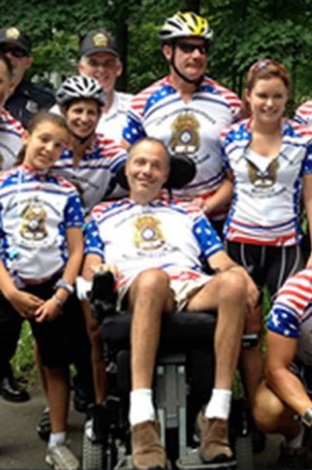 Sgt. Roger Petrone of the Greenwich Police Force passed away after a seven-year fight with Lou Gehrig's Disease.