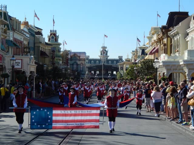 Somers Middle School band members recently performed in a special show at Walt Disney World Resort.