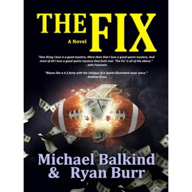 "Michael Balkind, author and Katonah resident, his released his latest book, ""The Fix."""