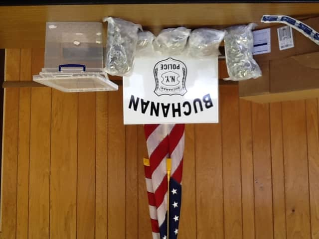 Buchanan Police intercepted marijuana sent through the mail.