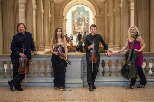 The string quartet Ethel is returning to New Canaan's Silvermine Arts Center on March 14.