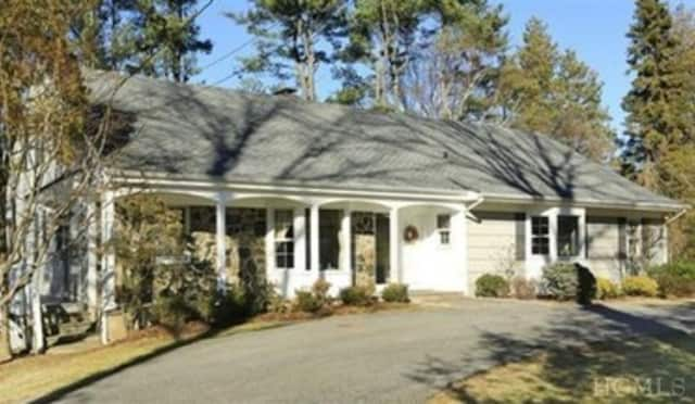This house at 1 Kitchel Road in Mount Kisco is open for viewing on Sunday.