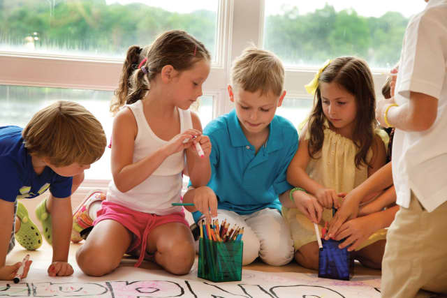 There are many activities for kids to enjoy at Westport Arts Center  summer camps.