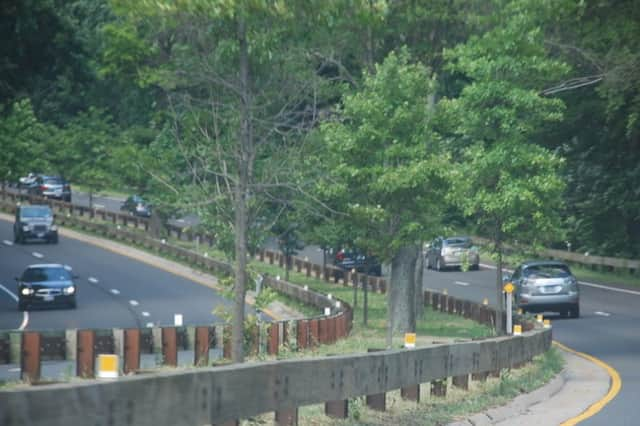 The northbound service plaza between exits 37 and 38 in New Canaan is closed for renovations.