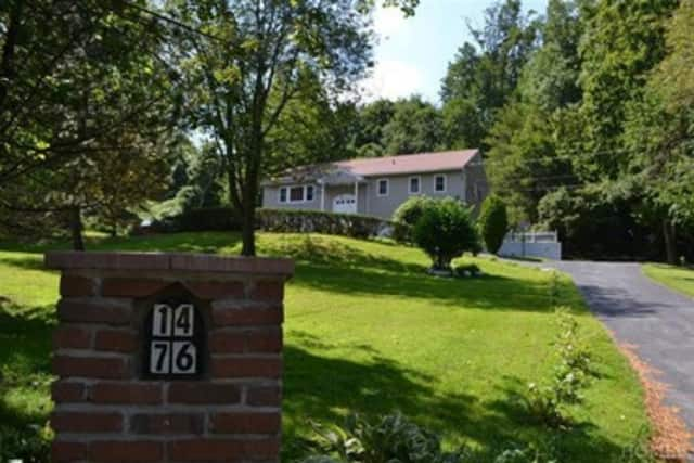 This house at 1476 Pleasantville Road in Briarcliff Manor is open for viewing on Sunday.