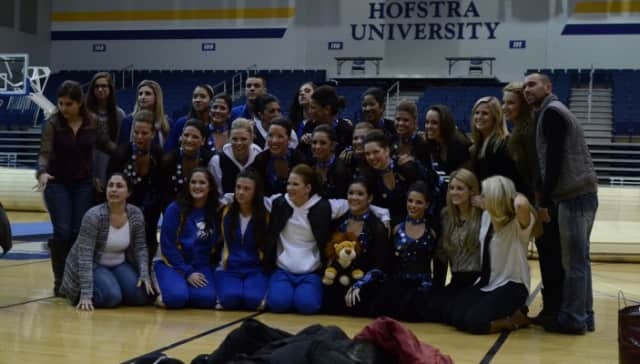 Katonah resident Sarah Gall is a member of the Hofstra cheerleading team that placed second in Nationals.