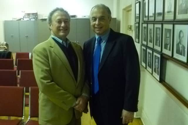 Neal Schwarzfeld, left, and Louis Annunziata are running unopposed for the Board of Trustees in Pelham Manor.