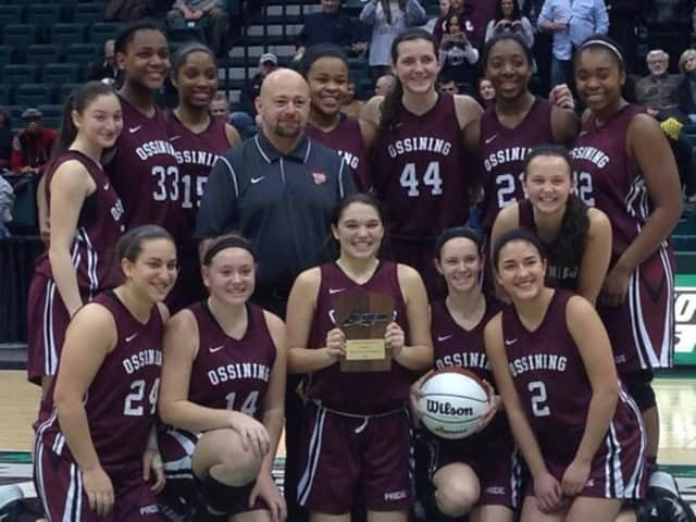 The defending Class AA state champion Ossining Pride won a third straight regional title Saturday.