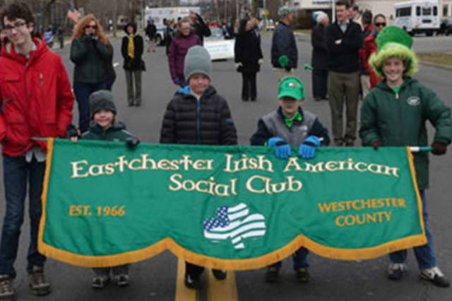 The Eastchester St. Patrick's Day Parade is on Sunday, March 16.