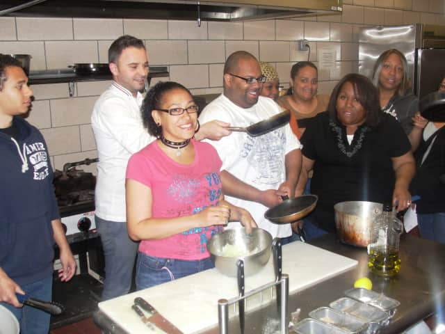 Several vocational classes, including culinary instruction are available at the Vive School.