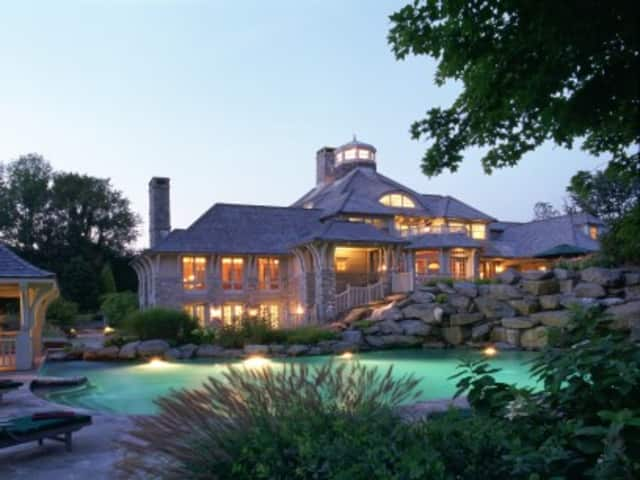 Sandy Weill's Greenwich home is on the market.