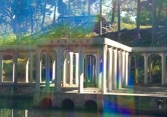 The Glass House in New Canaan is celebrating its 65th anniversary Fujiko Nakaya: Veil, a site-specific artist project.