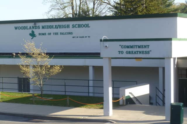A teacher from Woodlands Middle/High School in Greenburgh has been put on leave.