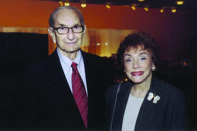 Hannah and Walter Shmerler of Rye will receive the Arts Patron Award from ArtsWestchester on April 4.