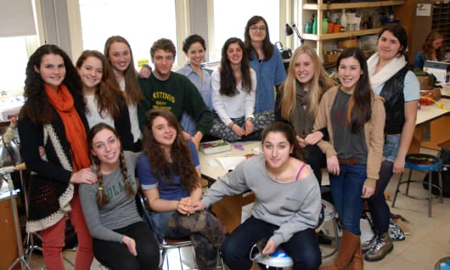 The Hastings High School Art Department announced the largest group of Scholastic Art Award winners in the school's history.