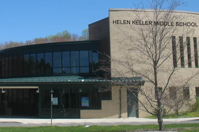 Helen Keller Middle School in Easton was evacuated Wednesday following a bomb threat, according to the Easton Courier.