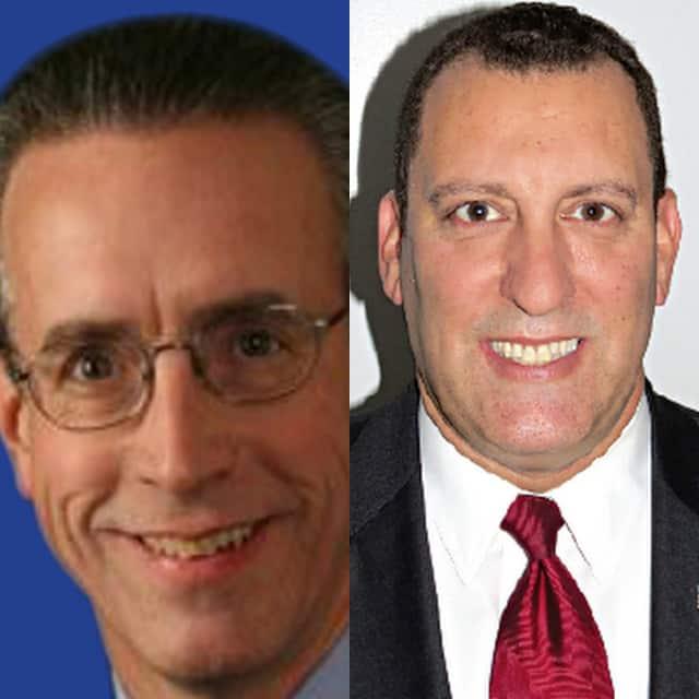 Demicrat Stephen Quigley, left, and Steven Alfasi won the village election.