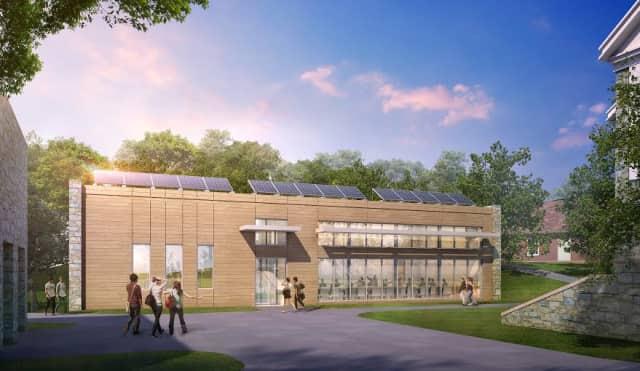 Pace University's tentative environmental center.