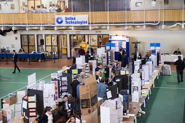 Greenwich students took home awards from the state Science and Engineering Fair.