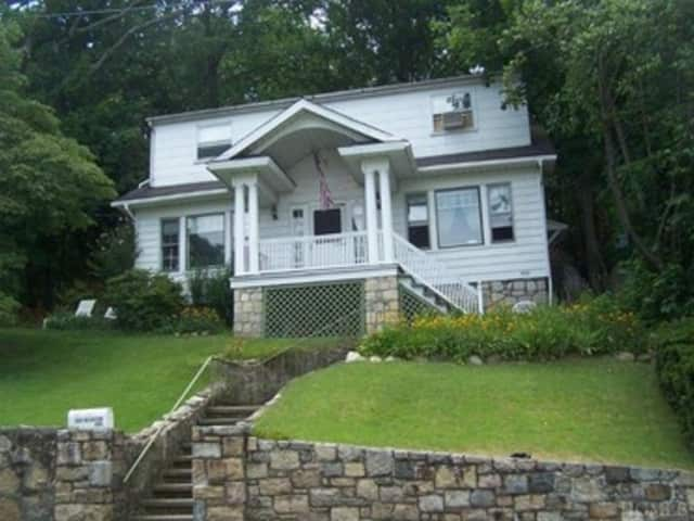 This house at 500 Decatur Ave. in Peekskill is open for viewing on Sunday.