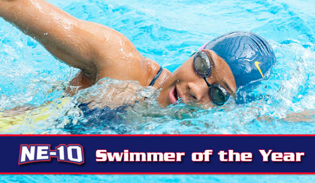 Pace University's Kaitlyn Lynch is the NE-10 Swimmer of the Year.