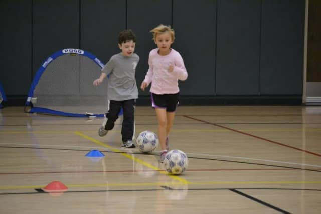 Club Fit Jefferson Valley offers soccer and a slue of programs for children.