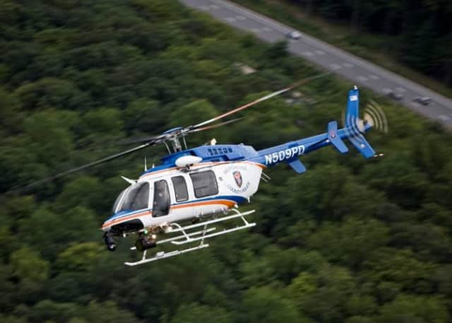 The Aviation Unit is being utilized in New Rochelle.