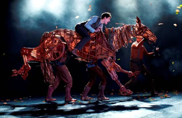 """A live HD broadcast of """"War Horse"""" will be screened at the Ridgefield Playhouse on Tuesday, March 25."""