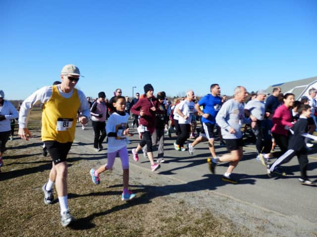 The 17th annual April Fool's 5k Race For D.A.R.E. will be held Saturday, March 19 at Samuel Staples Elementary School in Easton.