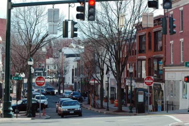 Downtown Peekskill is one place to find art from the Peekskill Project