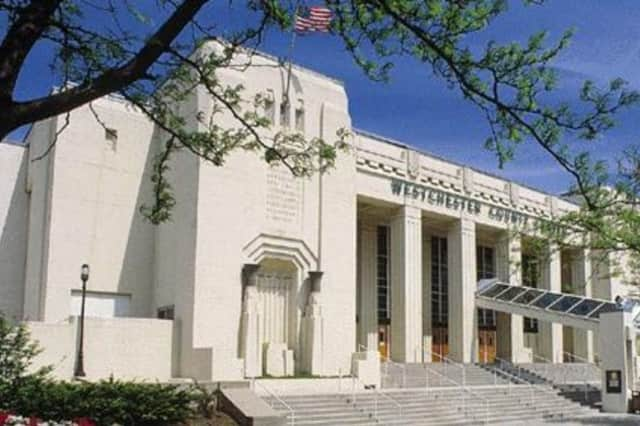 An Elmsford man pleaded guilty to driving drunk and killing a pedestrian outside the Westchester County Center