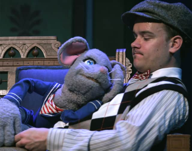 Stuart Little is starring in a musical Wednesday, March 26, at The Ridgefield Playhouse.