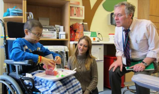 The Elizabeth Seton Pediatric Center in Yonkers is celebrating Child Life Month.