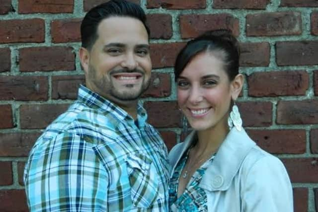 Danny Castro, left, pictured with his wife Laura, is the lead pastor at Fortress Bible Church in Tarrytown.