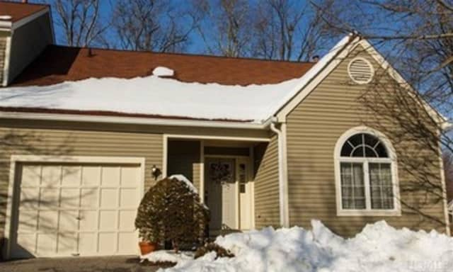 This house at 2906 Canterbury Way in Mount Kisco is open for viewing on Sunday.