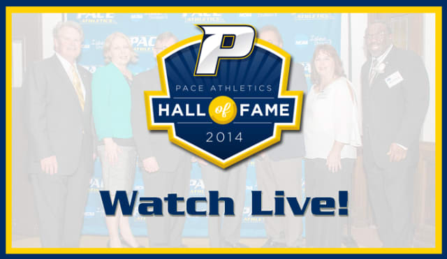 Pace University's sold out Hall of Fame Dinner will stream live beginning at 6:45 p.m. this friday, March 28.