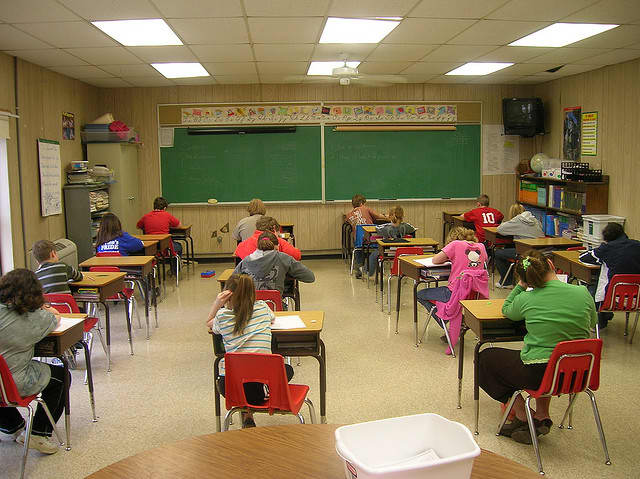 Students in grades three through eight must take state exams in English Language Arts and math.
