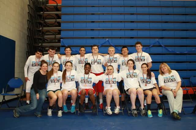 Sleepy Hollow High School's UNIFIED basketball team won a gold and bronze medal at the special olympics on Sunday, April 6.